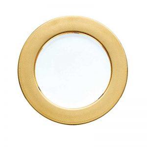 Guilloche gold underplate